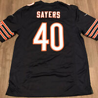 Nike Mens Sz Medium Gale Sayers Chicago Bears Football Jersey Blue NWT
