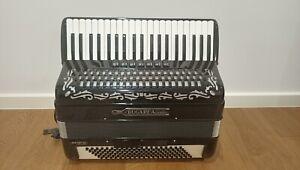 BUGARI ARMANDO - BLACK PIANO ACCORDION 120 BASS - MADE IN ITALY