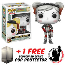 FUNKO POP DC BOMBSHELLS HARLEY QUINN VINTAGE EXCLUSIVE + FREE POP PROTECTOR
