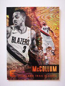 Panini Essentials 2017-18 card carte NBA Portland Trail Blazers #17 CJ McCollum