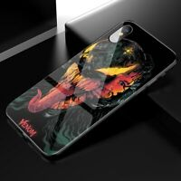 Venom Case iPhone 6s 7 8+ X XS XR 11 Pro MAX Marvel Comics Tempered Glass Cover