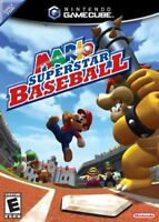 Mario Superstar Baseball Nintendo Gamecube