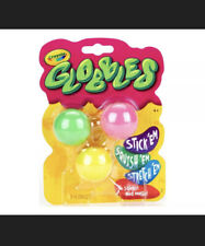 """CRAYOLA """"Globbles"""" 'NEW SLIME!' 3 Pack Assorted Colors. NO MESSTIKTOK IN HAND"""