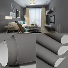 33ft Matte Gray Wallpaper Rolls Mottled Solid 3d Room Wallpaper Landscape Retro