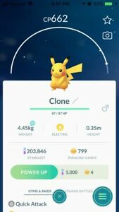 Pokémon Go Event Exclusive Clone Pikachu Trade! (Look At The Ears Lol)