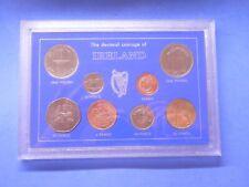 Eire Ireland 2000 Millennium 8-Coin Set BU Last pre-Euro issue Cased
