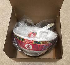 Supreme 2016 FW Longevity Soup Set Noodle Bowl Box Logo Case Tray Accessory