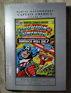 Marvel Masterworks- Captain America  Vol 10  HC
