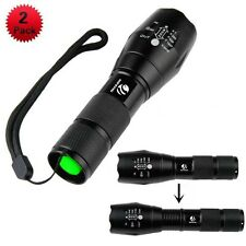 2 Pack LED Beam TACTICAL Flashlight Atomic LM Tough 1600 Lumen Ultra Grade New