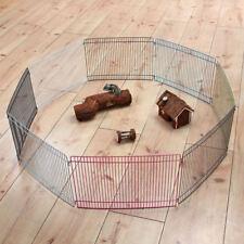 TRIXIE Freilaufgehege ø 86 x 23 cm für Mäuse Hamster Freilauf Gehege erweiterbar