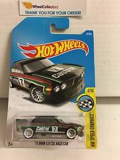 '73 BMW 3.0 CSL Race Car #57 * Black w/ Castrol * 2017 Hot Wheels *  B25