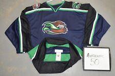 Authentic Sz 50 Missouri River Otters Uhl Throwback Minor League Hockey Jersey