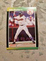 Ellis Burks Boston Red Sox 1989 Donruss Card Ungraded **