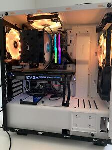 Custom Gaming PC i7-7700K, EVGA GTX 1070Ti FTW2, 16GB DDR4 RAM and 500GB SSD