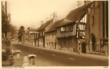 NORTHLEACH(Gloucestershire):  The High Street inc Union Hotel-PHOTOCHROM