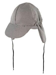 Sherlock Holmes Hat Adult Mens Ladies Deer Stalker Detective Fancy Dress Costume