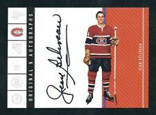 2003-04 Parkhurst Original Six Autograph Jean Beliveau Montreal Canadiens /85