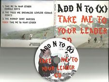 ADD N TO X take me to your leader EDITS & UNRELEASE & VIDEO CD single (X)