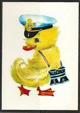 UdSSR 1984 Manilova duckling captain binoculars Künstlerkarte Rar MC MK USSR New