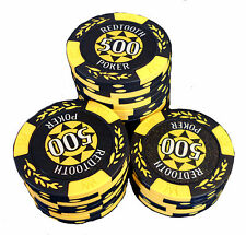 Redtooth Poker Chip Roll - 500 Value