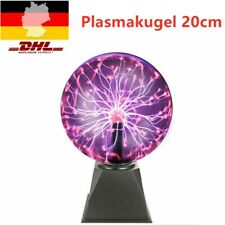 Plasmakugel 20cm Toller Retro Lichteffekt Magische Blitze im Plasmaball Lampe