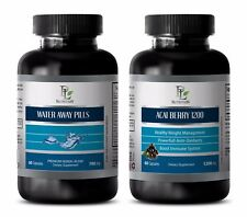 Energy supplement natural - WATER AWAY - ACAI BERRY COMBO - acai extract
