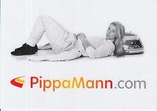 Pippa Mann Formula RENAULT PROMO CARD INDY CAR.