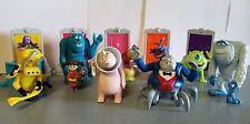 Disney Pixar MONSTERS INC. McDonald's Happy Meal Toys 16 Pcs. w/ doors (2001)
