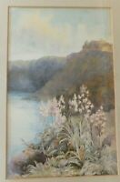 Antique Italy?  Landscape Watercolour Painting by Ina Clogstoun Signed