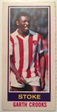 Topps 1980 Pink Back Chewing Gum Card Garth Crooks Stoke City Ex WBA Spurs