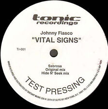 JOHNNY FIASCO - Vital Signs - 1999 Tonic - TR-001