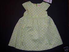 NWT Gymboree Ice Cream Social 18-24 Months Green Polka Dot Dress