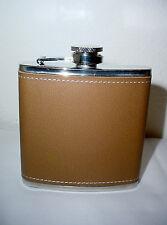 Stainless Steel Screw Cap Liquor Alcohol Hip Pocket Flask