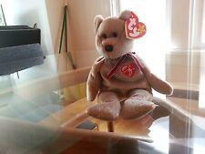 1999 Signature Bear Ty Beanie Baby - MINT - RETIRED