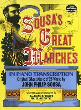 Sousa's Great Marches In Piano Transcription Learn to Classical Piano Music Book