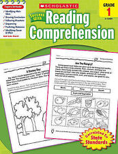 NEW Scholastic Success with Reading Comprehension, Grades 1 by Scholastic
