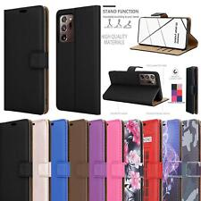 For Samsung Galaxy Note 20 Ultra 5G Case Slim Armour Leather Wallet Phone Cover