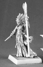 Liela Dark Elf Sorceress Darkreach Warlord Reaper Miniatures Wizard Warlock Mage