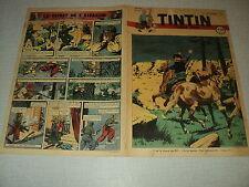 TINTIN 1947/37 (11/9/47) EDGAR P JACOBS LE SECRET DE L'ESPADON HERGE