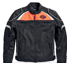 Harley-Davidson Mens Hi-Vis Switchback Lite Motorcycle Riding Jacket 98091-15VM