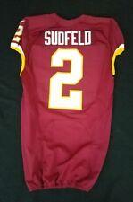 #2 Nate Sudfeld (QB) of Washington Redskins Nike Game Issued Jersey