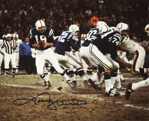 **Johnny Unitas Signed Autographed Photo Baltimore Colts #2 PSA/DNA**