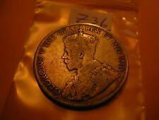 Canada 1919 50 Cent Rare Silver Coin ID#Z36.