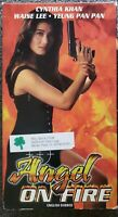Angel On Fire (VHS 1986 Tai Seng) English Dubbed Martial Arts Rare HTF OOP VGC