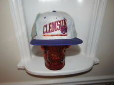 NWT VINTAGE CLEMSON TIGERS SIGNATURES EDS WEST SNAPBACK HAT FLEECE BRAND NEW