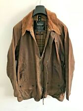Mens Barbour Beaufort wax jacket Brown coat 50in size Extra Large (XL) / 2XL #5