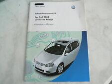 SSP 319 Der Golf V 2004 Elektrische Anlage  Handbuch,Selbststudienprogramm