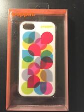 poppin Apple iphone 5/5s Case Lime Green Kaleidoscope NEW in Retail Packaging