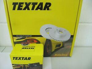 Textar Bremsscheiben und Bremsbeläge AUDI A4 B6/B7 Satz für Hinten 255x12mm