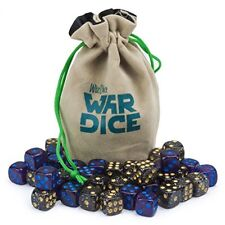 Wiz Dice War Dice, 12mm Wargaming Mini d6 Dice, 40-pack, Galactic Conquest